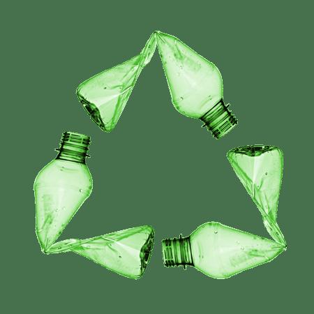 قابلیت بازیافت بطری و لیبل های آب معدنی کرست