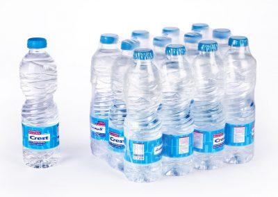 بسته بیندی آب معدنی طبیعی کرست کوچک