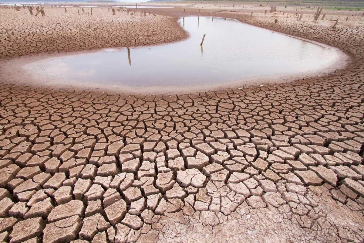 وضعیت منابع آب در ایران