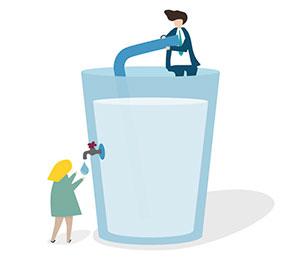 میزان آب مورد نیاز بدن در گرما و سرما