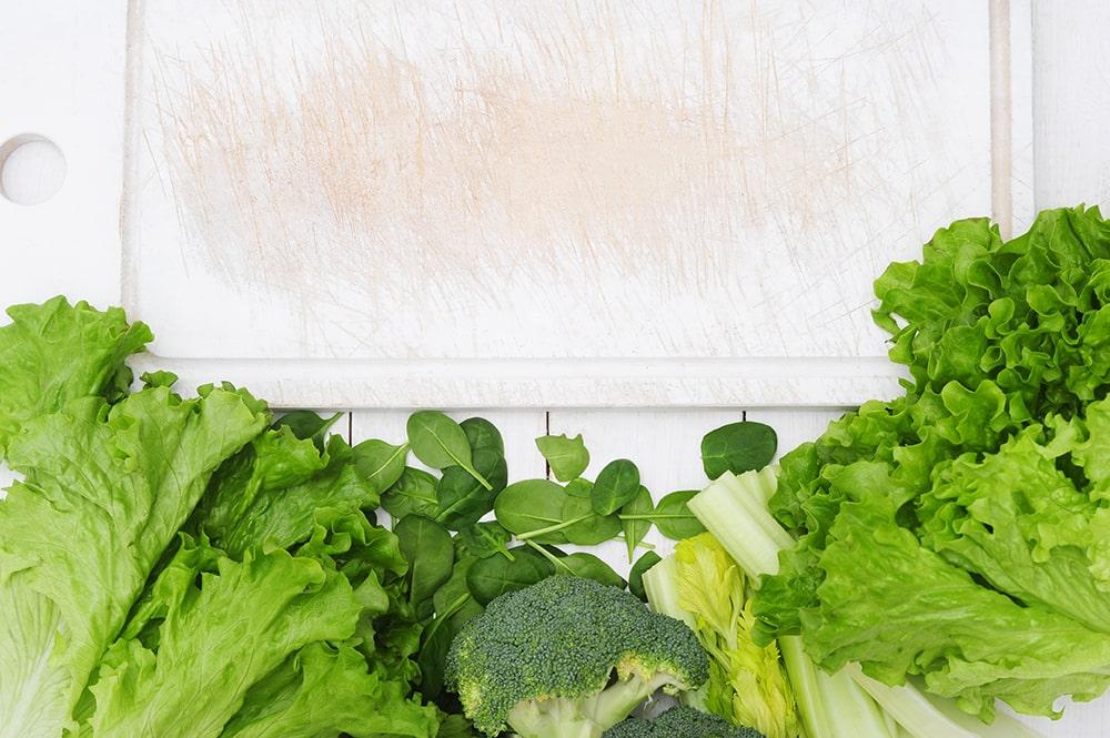 سبزیجات برگ دار مناسب برای کم خونی