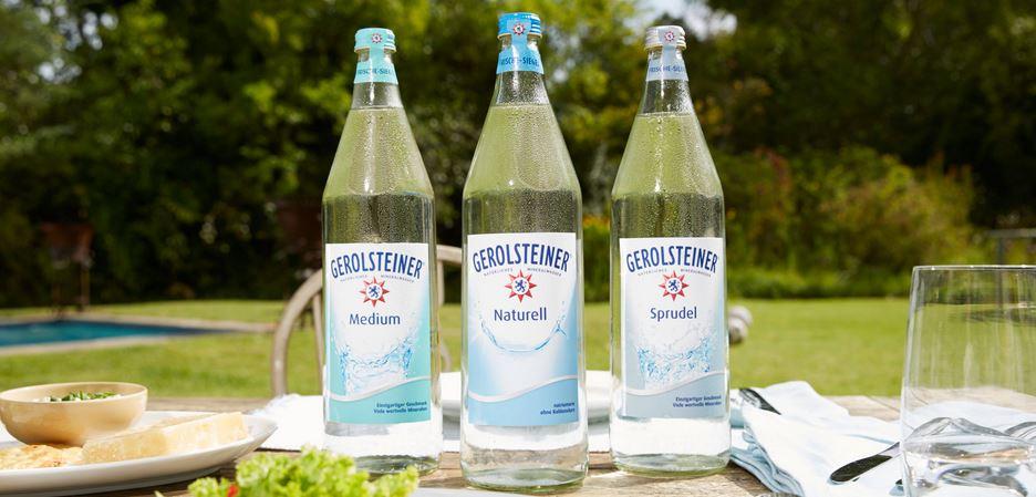 آب معدنی برند Gerolsteiner Mineral Water